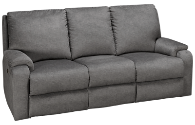 Klaussner Home Furnishings Moving Your Way Power Sofa Recliner with Console, Tilt Headrest and Lumbar