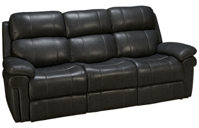 Synergy Seville Leather Dual Power Sofa Recliner