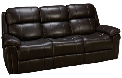 Synergy Seville Leather Power Sofa Recliner