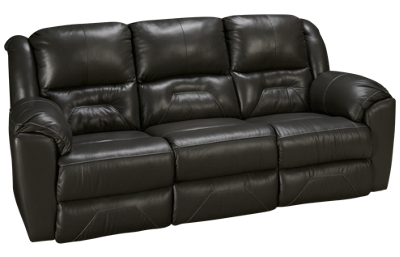 Southern Motion Pandora Leather Power Sofa Recliner with Power Tilt Headrest