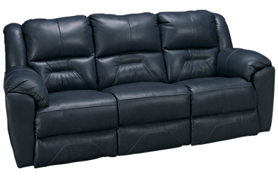 Southern Motion Pandora Leather Power Sofa Recliner with Tilt Headrest