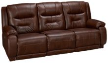 Southern Motion Cresent Power Sofa Recliner with Power Tilt Headrest