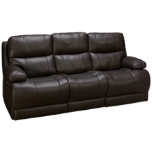 Palliser Kenaston Leather Power Sofa Recliner with Tilt Headrest