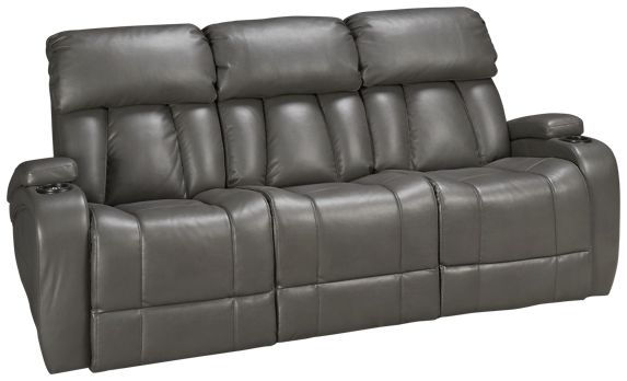 Synergy Jamestown Sofa Recliner With Console And Tilt Headrest Jordan S Furniture