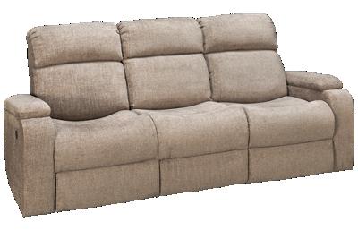 Synergy Austin Dual Power Sofa Recliner with Headrest & iTable