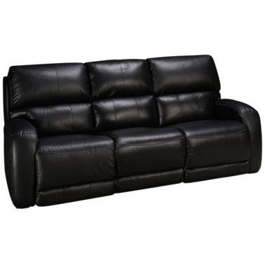 Southern Motion Fandango Leather Power Sofa Recliner