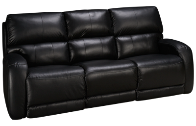 Southern Motion Fandango Leather Dual Power Sofa Recliner