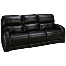 Southern Motion Fandango Leather Power Sofa Recliner with Tilt Headrest