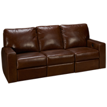 Soft Line Energia Leather Power Sofa Recliner