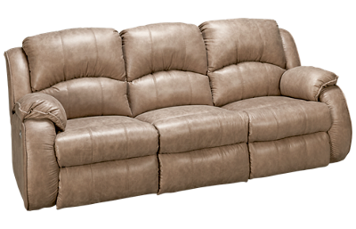 Southern Motion River Run Dual Power Sofa Recliner with Headrest