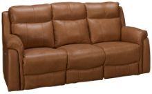 Southern Motion Uptown Leather Power Sofa Recliner with Lumbar and Power Tilt Headrest