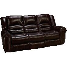 Flexsteel Crosstown Leather Power Sofa Recliner