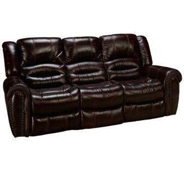Flexsteel Crosstown Flexsteel Crosstown Leather Power Sofa Recliner