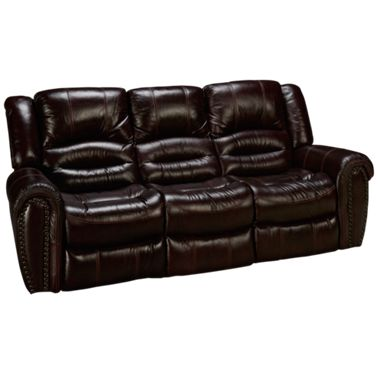 Flexsteel-Crosstown-Flexsteel Crosstown Leather Power Sofa Recliner ...