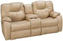Southern Motion Avalon Power Sofa Recliner with Console
