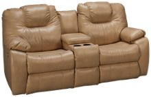 Southern Motion Avalon Power Sofa Recliner with Console & Headrest