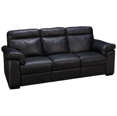 Natuzzi Editions Brivido Leather Power Sofa Recliner