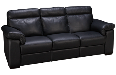 Natuzzi Editions Brivido Leather Power Sofa Recliner