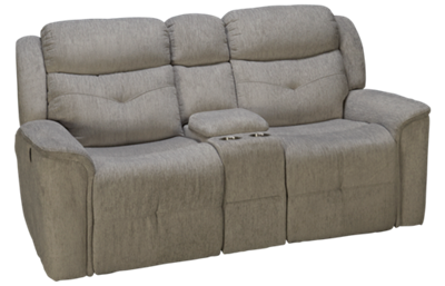 New Classic Home Furnishings Havana Power Loveseat Recliner with Console
