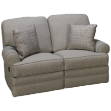 Klaussner Home Furnishings Belleview Power Loveseat Recliner