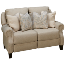 Southern Motion Key Largo Power Loveseat Recliner with Tilt Headrest