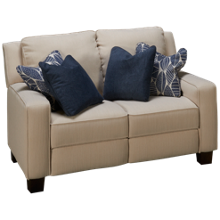Southern Motion West End Power Loveseat Recliner with Tilt Headrest