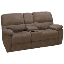 Synergy Marley Loveseat Recliner with Console