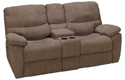 Synergy Marley Power Loveseat Recliner with Console