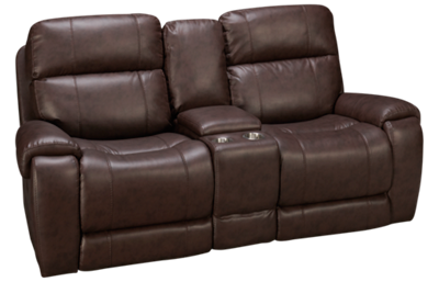 Synergy Manchester Loveseat Dual Recliner with Console
