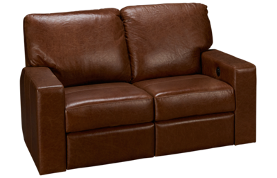 Soft Line Energia Leather Power Loveseat Recliner