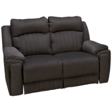Southern Motion Silverscreen Power Loveseat Recliner with Tilt Headrest