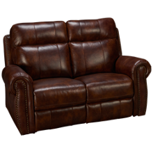 New Classic Home Furnishings Roycroft Power Loveseat Recliner