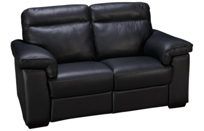 Natuzzi Editions Brivido Leather Power Loveseat Recliner