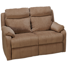 Klaussner Home Furnishings Solitaire Power Loveseat Recliner with Tilt Headrest