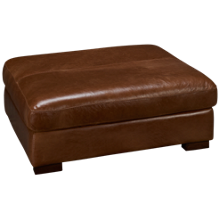 Soft Line Pista Leather Cocktail Ottoman