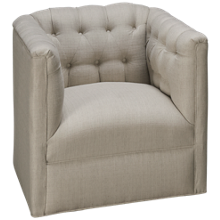 Sam Moore Oleander Accent Swivel Chair