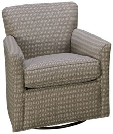 Sam Moore Paddy Accent Swivel Glider Chair