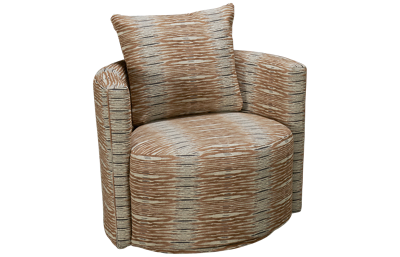 Jonathan Louis Crosby Swivel Accent Chair