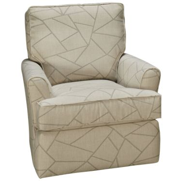 Capris Flair Arm Swivel Glider