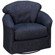 Klaussner Home Furnishings Sparks Accent Swivel Chair