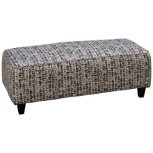 Fusion Furniture Vintage Cocktail Ottoman