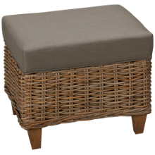 Capris You Design Wood Base Ottoman