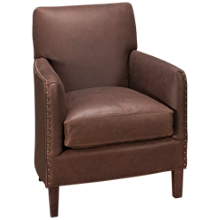 Sam Moore Calvin Leather Accent Chair