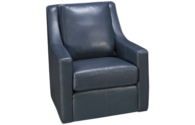 Flexsteel Lennox Leather Swivel Chair