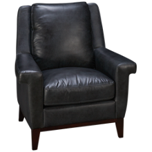 Simon Li  Woodstock Leather Accent Chair