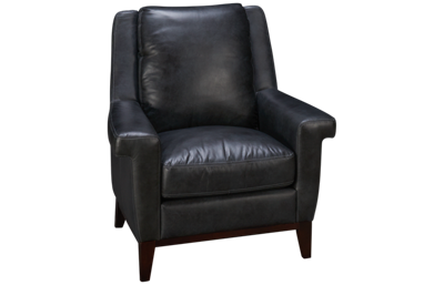 Simon Li  Woodstock Leather Accent Chair