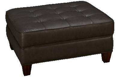 Flexsteel Lennox Leather Ottoman