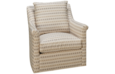 Huntington House Traditional High Back Accent Swivel Chair