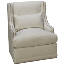 Rowe Lindsay Accent Swivel Chair