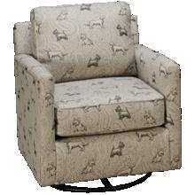 Fusion Furniture Bailey Swivel Glider